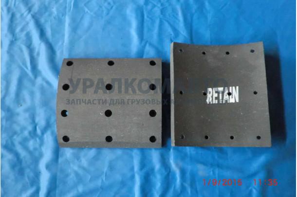 Тормозные накладки 410x200 (комплект 8 шт.) Retain